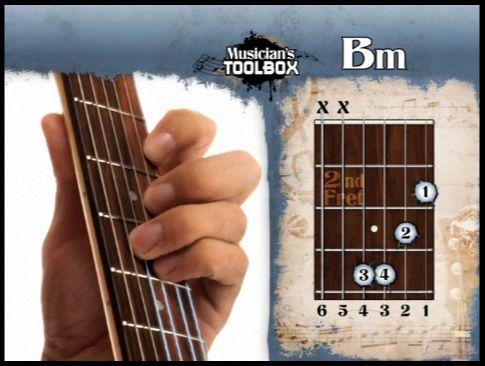 Modern Easy B Minor Guitar Chord Festooning - Beginner Guitar Piano ...