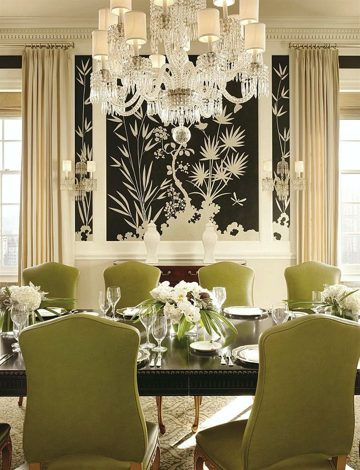 1000 ideas about dining room wallpaper on pinterest for Wallpaper for dining room feature wall