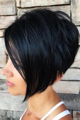 Best Short Hairstyles For Round Faces To Emphasize Your Beauty ★ #shorthairstylesforwomen