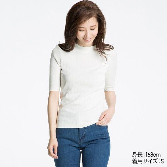 ユニクロ|Tシャツ(7分袖・半袖・タンクトップ)|WOMEN(レディース)|公式オンラインストア(通販サイト) | UNIQLO