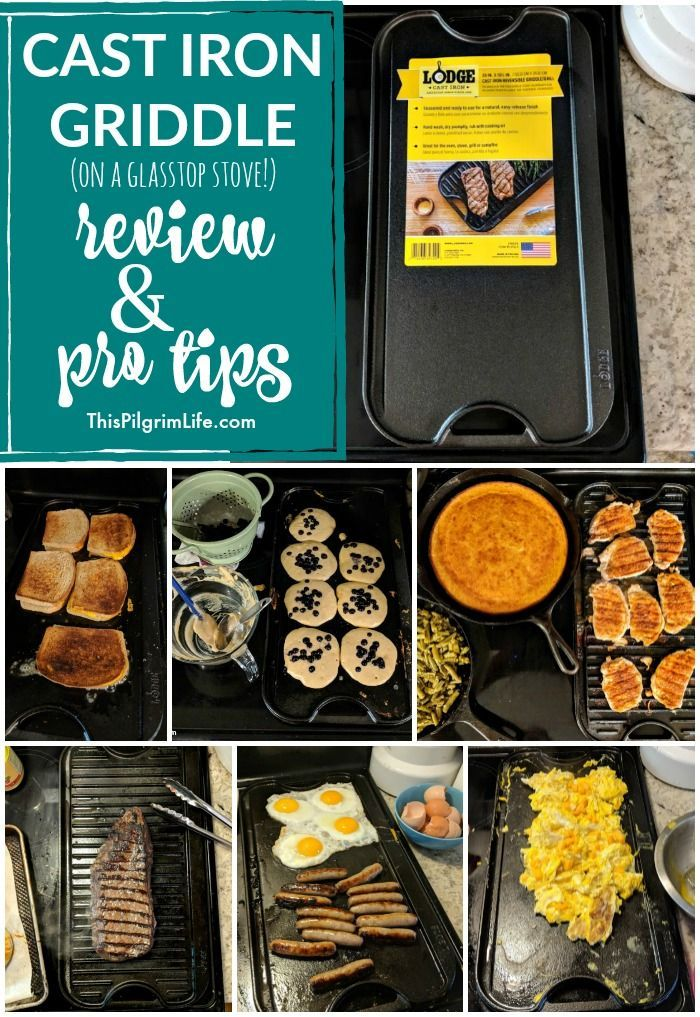 Cast Iron Griddle On A Glass Top Stove Review Cast Iron Griddle Griddles Lodge Cast Iron Griddle