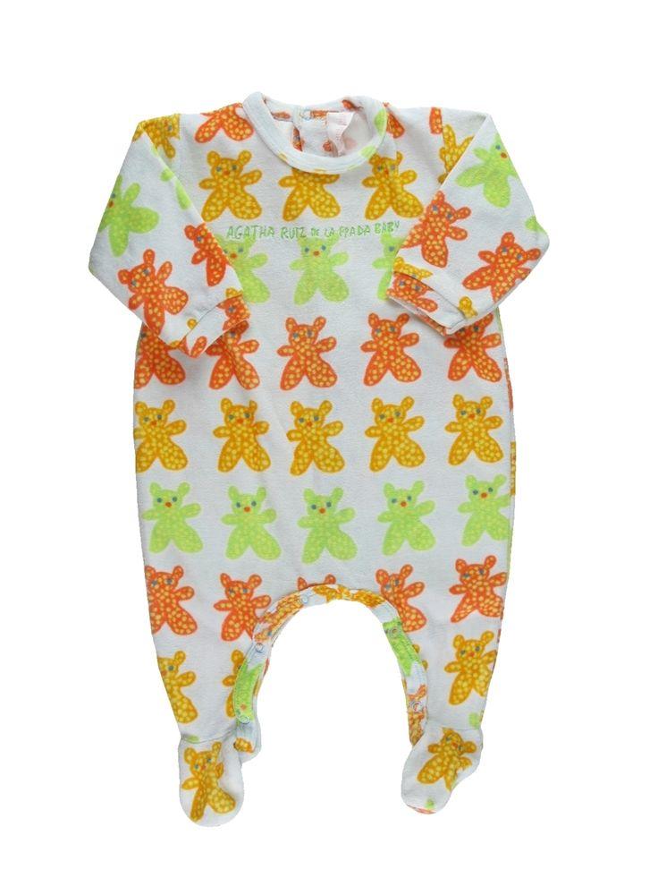 Pyjama 1 pièce Fille AGATHA RUIZ DE LA PRADA 3 mois pas cher, 15.18 €
