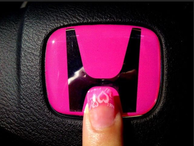 Logo pink honda civic