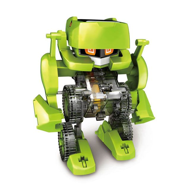 Are your children glued to their smart phones? Well, it's time for some wholesome fun in the sun with this DIY solar-powered transforming Robot! With absolutely no batteries required, your children wi