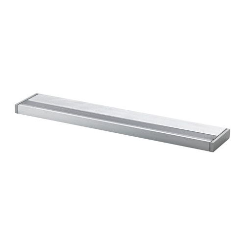 IKEA - GODMORGON, LED cabinet/wall light, , Provides an even light that is good for illuminating around a mirror and sink.Can be mounted on the wall as a shelf or on top of a bathroom cabinet.The LED light source consumes up to 85% less energy and lasts 20 times longer than incandescent bulbs.