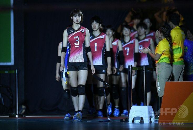 女子バレー日本、地元ブラジルに完敗 リオ五輪 国際ニュース:AFPBB News