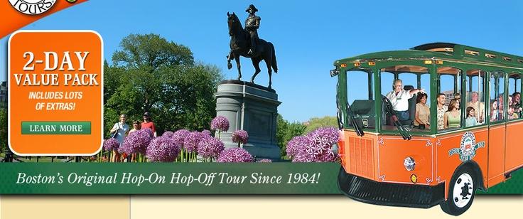 Boston Tours | Boston Attractions | Old Town Trolley Tours®
