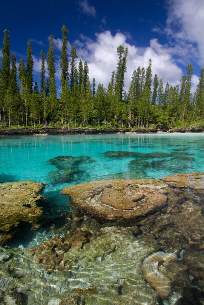 Pacific jewel - Natural pool, L'île des Pins, New Caledonia