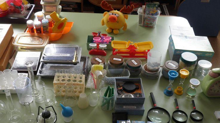 детский сад - Уголки экспериментирования