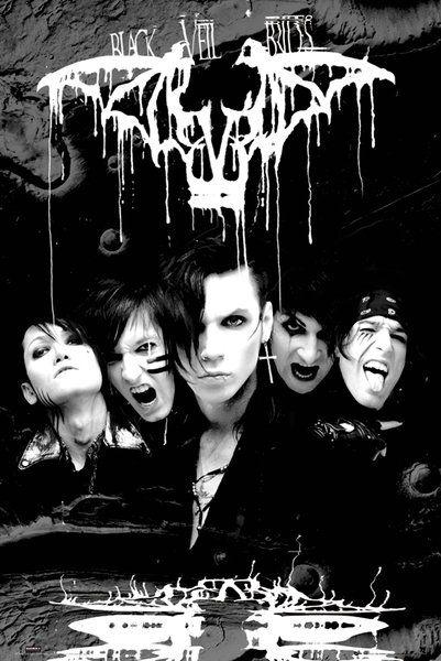 Black Veil Brides - mroczny plakat