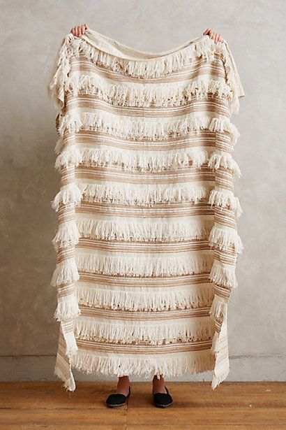 This Moroccan Wedding Throw is a total steal at $128.00 // Anthropologie #moroccan #wedding #blanket