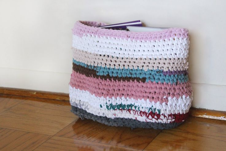 The Fuzzy Square: T-shirt Basket Revisited