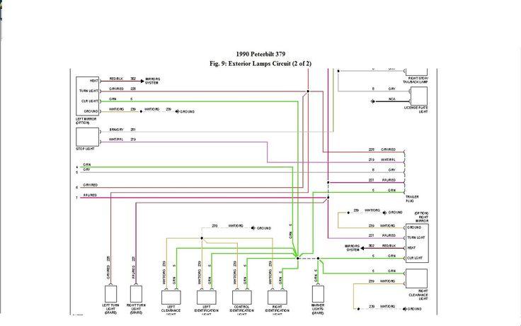Peterbilt 379 Headlight Wiring Diagram, Peterbilt 379 Headlight Wiring Diagram