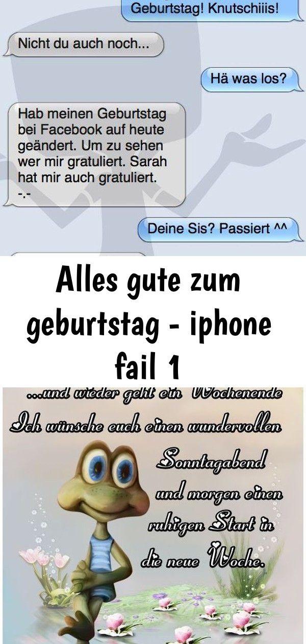 Alles Gute Zum Geburtstag Spruch Sonntag Lustig Fur Whatsapp