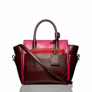 Love this Reed Krakoff mini Atlantique bag, Crimson/Fuschia collection.