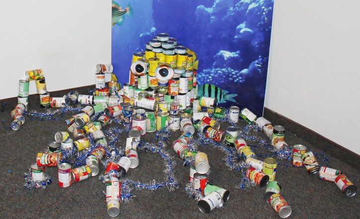 59 Best Images About Canstruction 174 Examples From Around