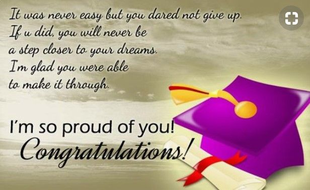 Inspirational Quotes For Highschool Graduates From Parents | Graduation congratulations quotes, Graduation quotes, Graduation message quotes