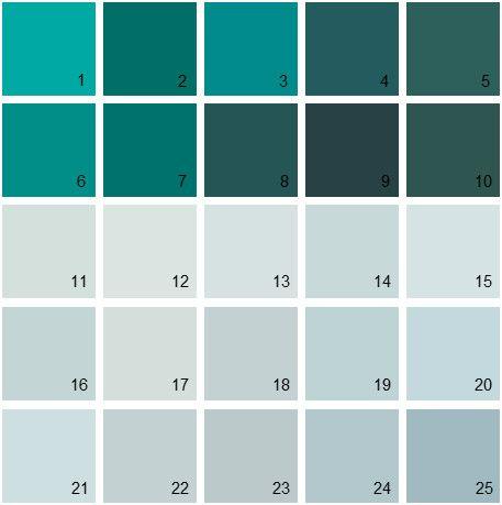 Blue Paint Swatches 412 best paint images on pinterest | wall colors, interior paint