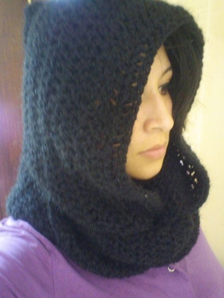 Cómo tejer una Capucha estilo Palestina  Crochet  fácil! Puedes hacer ne...