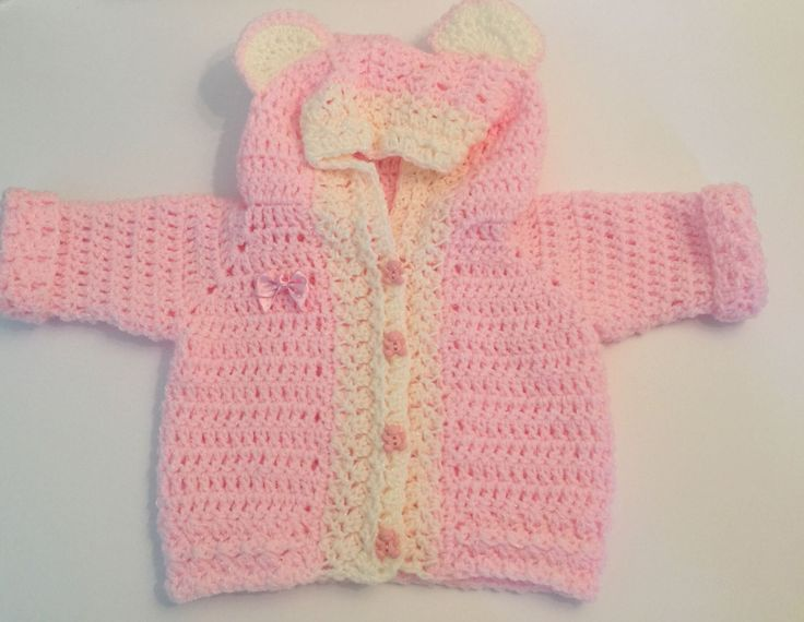 A personal favourite from my Etsy shop https://www.etsy.com/uk/listing/470016279/crochet-handmade-baby-pink-and-cream