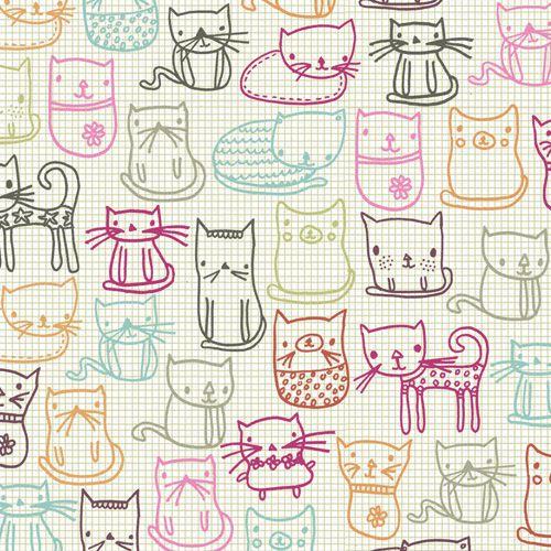 cat pattern | Tumblr