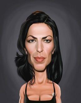 Claudia Black by robart at zippi.co.uk art | decor | wall art | inspiration | caricature | home decor | idea | humor | gifts