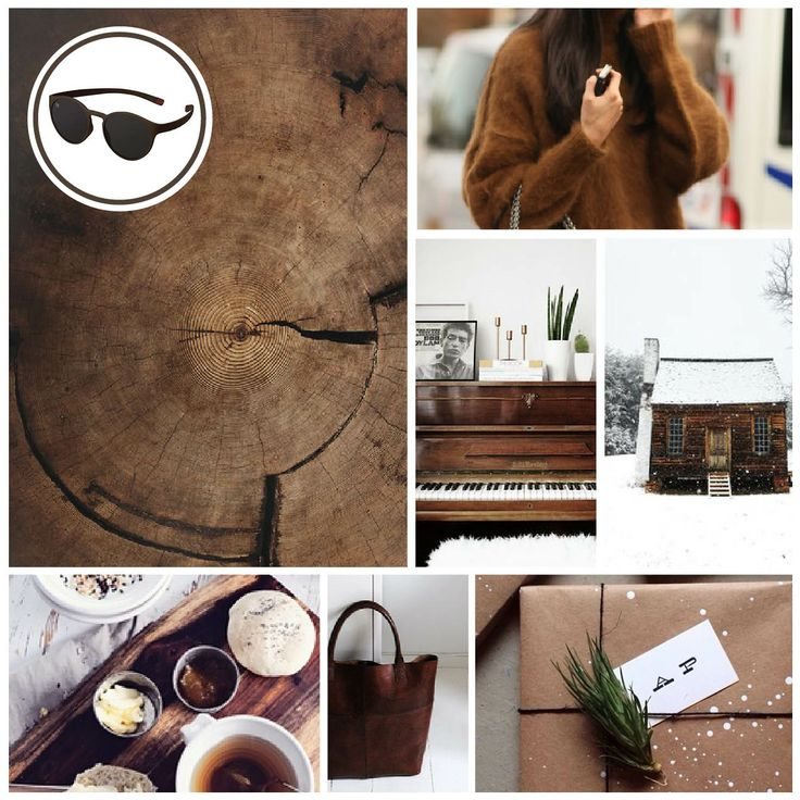 MONDAY MOODBOARD; WOOD BROWN. Start your week with color inspiration! In this weekly Monday Moodboard it's all about grey. Focus: Foggy Autumn. Ice-Watch Eyewear model: Mood - wood brown https://www.facebook.com/photo.php?fbid=675660465806877&set=a.624733494232908.1073741830.622477121125212&type=1&theater