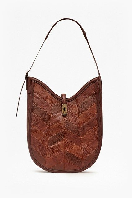 Like the subtle detail, big enough for a water bottle? Patchwork Pearle Hobo Bag