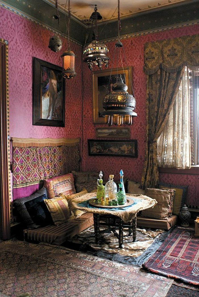 die besten 25 orientalische stoffe ideen auf pinterest. Black Bedroom Furniture Sets. Home Design Ideas