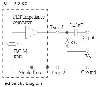 internal connection of electret microphone electronic circuitaudio voice over circuit diagram using lm386