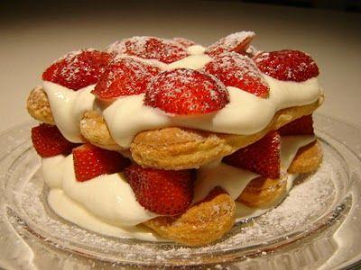 Strawberry Tiramisu Thermomix