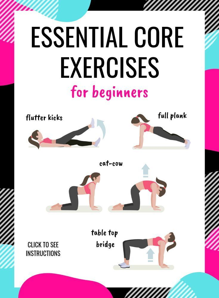 Core Exercises For Beginners Core Exercises For Beginners