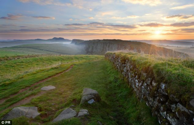 Hadrian's Wall remained in use until the early fifth century.