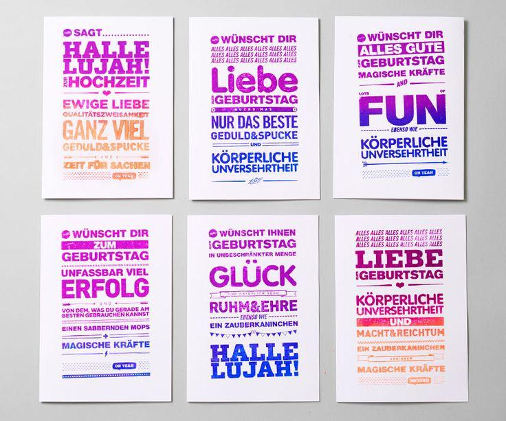 Hello AG | Agentur für Kommunikation | München - Grußkartenstempel