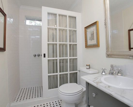 A Unique Twist On A Glass Shower Door