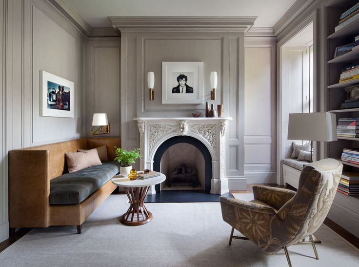 Eclectic Office And Study In New York NY By Shawn Henderson Interior Design