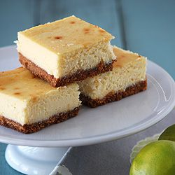 Lime and White Chocolate Cheesecake Bars | You're Baking me Crazy | P ...