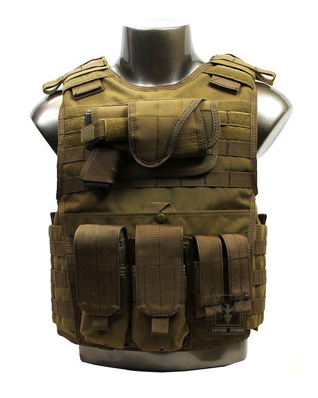AR500 Armor XL Plate Carrier with Armor & Pouches