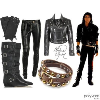 Michael Jackson, but seriously I want some leather skinnies....