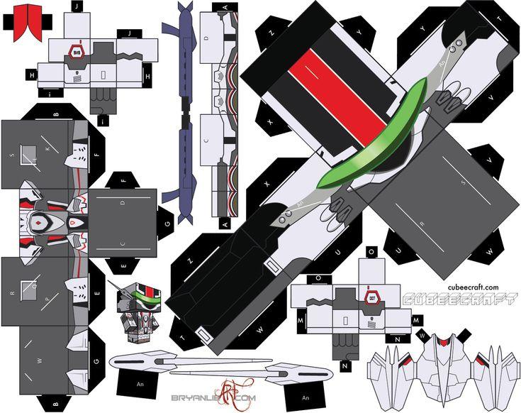 Papercraft: Macross Frontier (TV) - Messiah VF-25