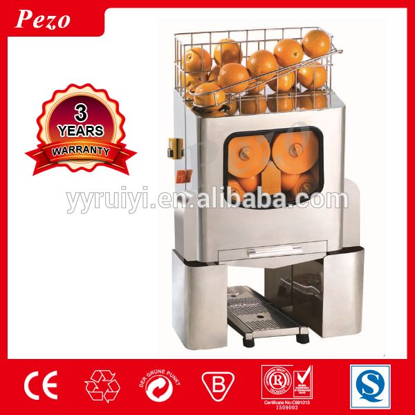 2017 120W electric amazing quality stainless steel Orange juice machine