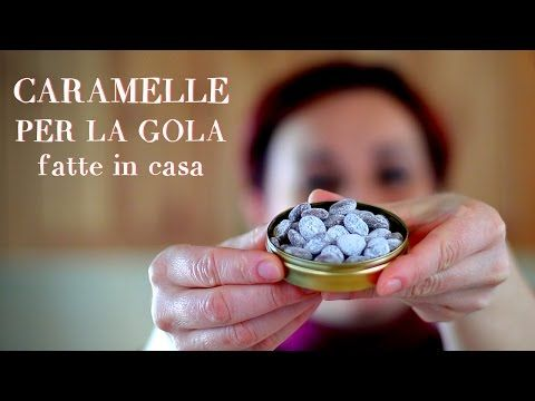 CARAMELLE PER LA GOLA Fatte in casa - Homemade Cough Drops - YouTube