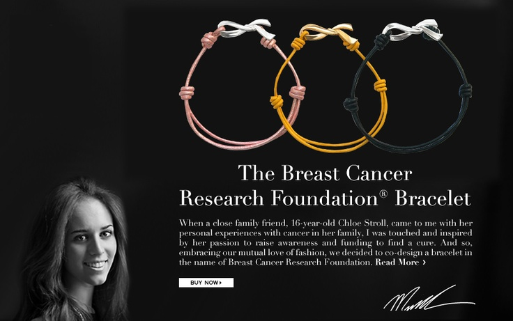 Breast cancer research foundation bracelets