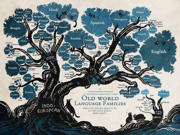 Vynikající strom jazyků ukazuje, kde se kdysi vzala čeština i jiné řeči světa | Reflex.cz
