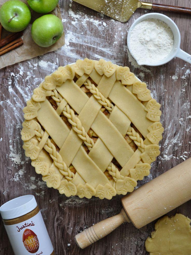 maple almond butter apple pie
