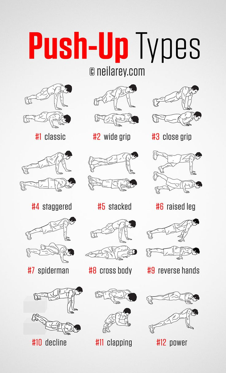 How to start The best way to start doing push-ups is to do them. Start flat on your face, on the floor. Put a hand flat on the floor on either side of your head, at the height of your shoulders, get on the soles of your feet, exhale and simply...