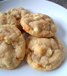 Peaches n' cream oatmeal cookies. These are a great way to use up instant oatmeal packets.                                                                                                                                                                                 More