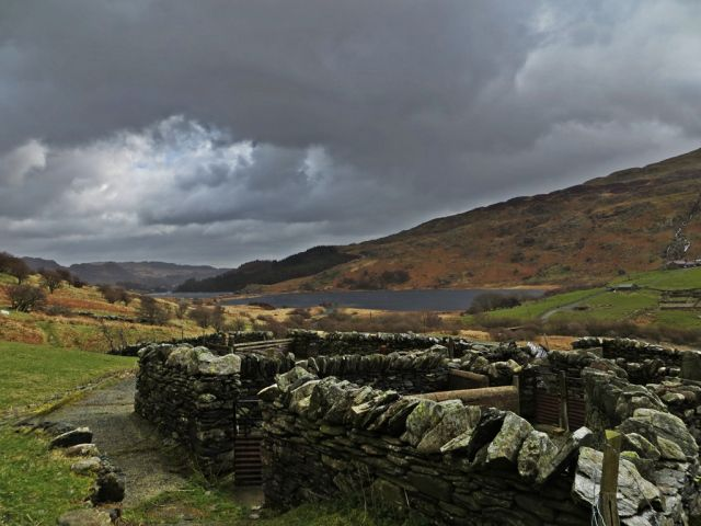 ICONIC WELSH HILLFARM PART III - PAYING MY RESPECTS by Mike Howe on #MikeHowe.com | Image: Sheep Pens © Mike Howe