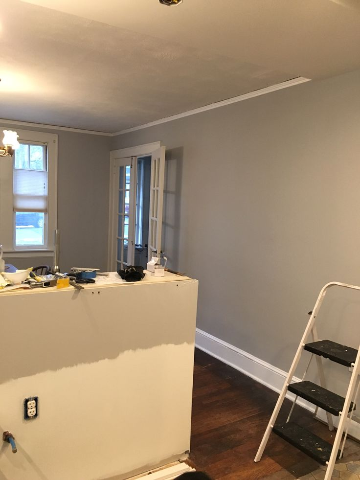 Painting in the dining room and kitchen are complete we for Behr interior paint colors