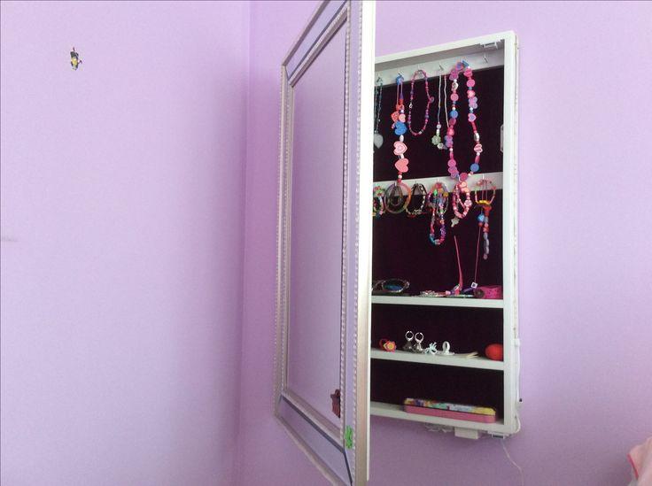 11 best miroir rangement bijoux images on Pinterest | Mirror ...
